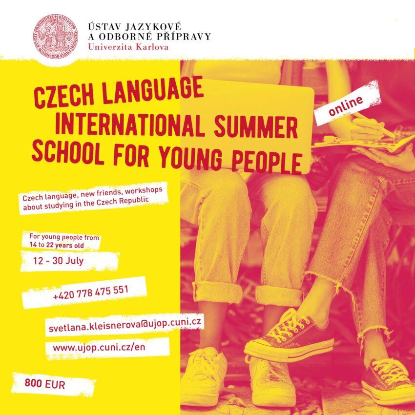 study czech online summer school