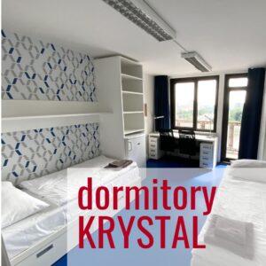 ujop dormitory Praha-Krystal