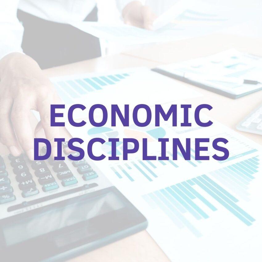 economic disciplines university czech